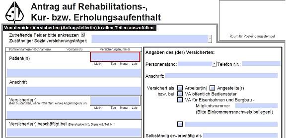 Ausfüllen von Kuranträgen und Patientenverfügungen